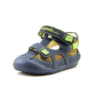 Momo Baby Thomas Toddler Round Toe Leather Sport Sandal