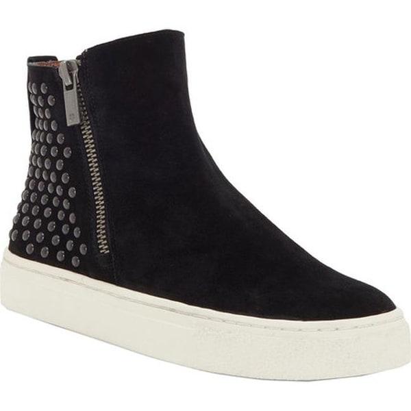 a791d66c9307 Shop Lucky Brand Women s Bayleah High Top Sneaker Black Suede - Free ...
