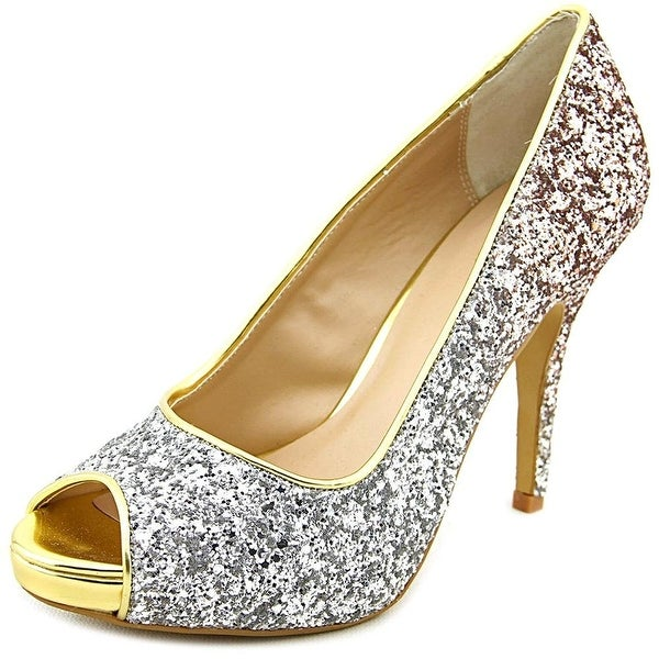 Thalia Sodi Womens Cereza Peep Toe Classic Pumps