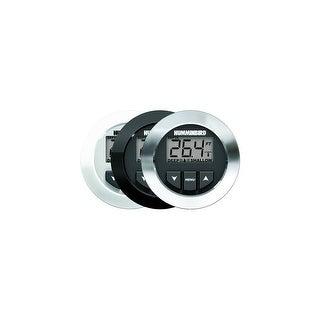 HUMMINBIRD HDR 650 BLACK, WHITE, OR CHROME BEZEL W/TM TRANDUCER 407860-1 HDR 650 In-Dash Digital Depth Sounder