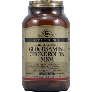 Solgar Triple Strength Glucosamine Chondroitin Msm (Shellfish-Free) (120 Tablets)