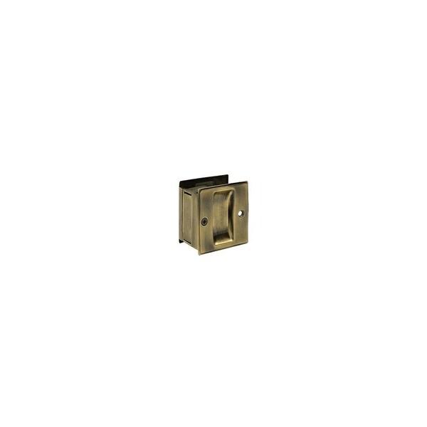 """Deltana SDPA325 3-1/4"""" Tall Pocket Door Passage Pull"""