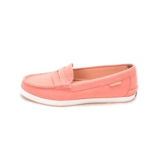 Cole Haan Womens W02180 Canvas Closed Toe Loafers - 6