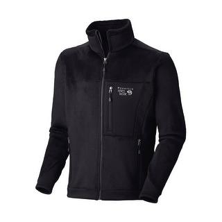 Mountain Hardwear Men's Monkey Man 200 Jacket Black XXL 2XL Black Fleece