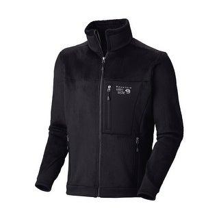 Mountain Hardwear Men's Monkey Man 200 Jacket Large L Black Fleece