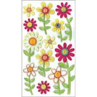 Large Daisies - Jolee's Boutique Dimensional Stickers