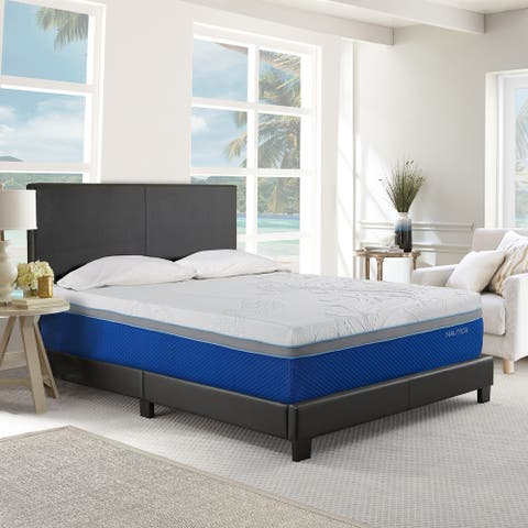 "Nautica® 14"" Medium Plush Cool Gel Memory Foam Mattress"