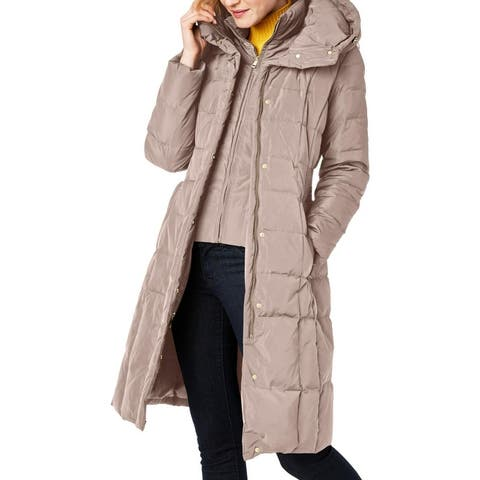 Cole Haan Womens Parka Coat Winter Down