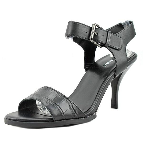 ShoeMint Finley Women Black Sandals