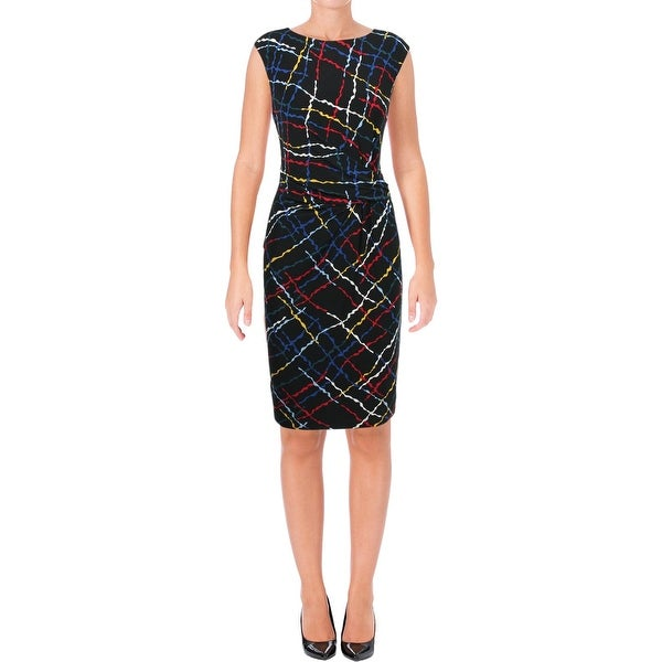 Shop Anne Klein Womens Wear To Work Dress Printed Business