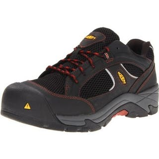 Keen Mens Albany Work Shoes Composite Toe Leather - 9.5 extra wide (e+, ww) https://ak1.ostkcdn.com/images/products/is/images/direct/6a67a51fdb62c970d308f25969bcfb80e8774701/Keen-Mens-Albany-Work-Shoes-Composite-Toe-Leather.jpg?impolicy=medium