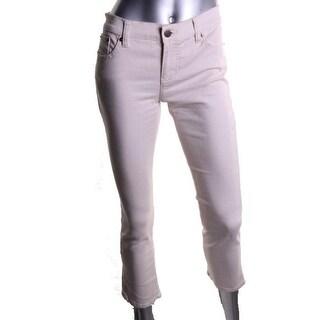 LRL Lauren Jeans Co. Womens Petites Slimming Modern Straight Leg Jeans - 6P