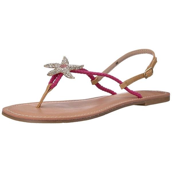 DOLCE by Mojo Moxy Womens Moxy Open Toe Beach Ankle Strap Sandals
