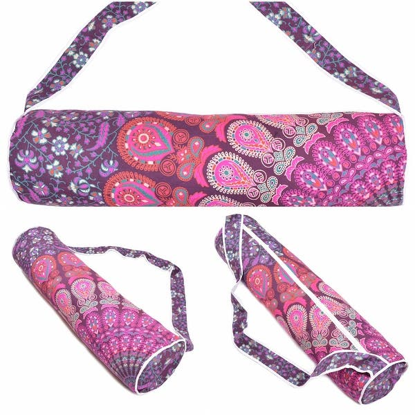Details about  /New Unisex Cross Body Kantha Yoga Bag Running  Bohemian Exercise 100/% Cotton