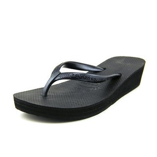 Havaianas High Open Toe Synthetic Flip Flop Sandal