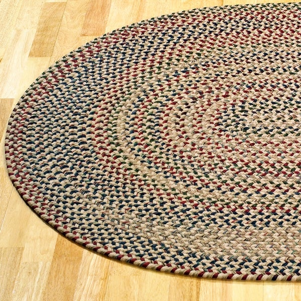 Colonial Mills Worley Rustic Braided Runner Rug. Opens flyout.