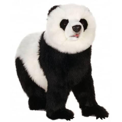 "Life-like Handcrafted Extra Soft Plush Panda Bear on All Four Feet Stuffed Animal 29.5"""