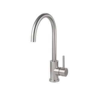Miseno MK003 Bar / Prep Faucet (Solid T304 Stainless Steel) with Lever Handle and Single Hole Installation