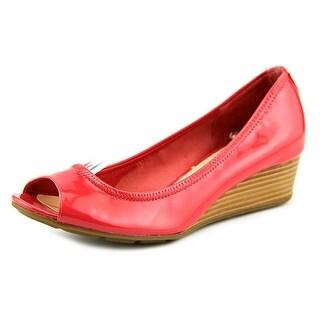 Cole Haan Air Tali.OT Wedge.40 Open Toe Leather Wedge Heel