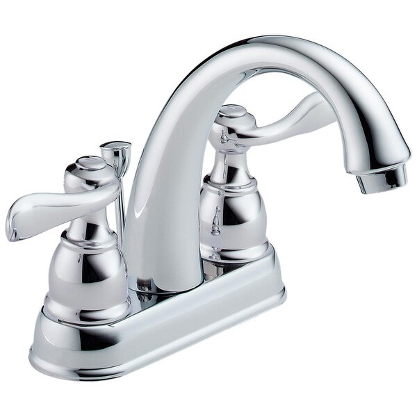Delta 25996LF Windemere Two Handle Centerset Lavatory Faucet, Chrome