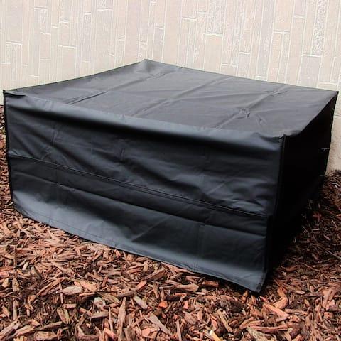 Sunnydaze Square Black Fire Pit Cover