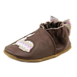Robeez HOPPING HALEY Round Toe Leather Bootie