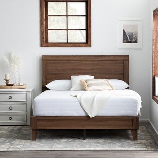 Link to Brookside Leah Classic Wood Platform Bed Similar Items in As Is