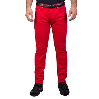 Dior Homme Men's Slim Fit Jeans Pants Red - 33