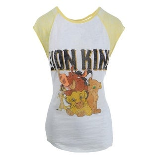 Disney Womens Juniors Burnout Graphic Pullover Top - XL