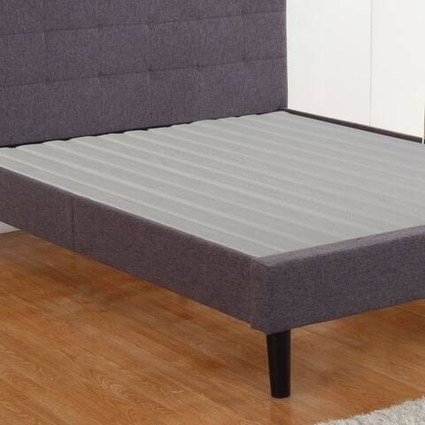 Onetan, 0.75-Inch Heavy Duty Vertical Mattress Support Wooden Bunkie Board/Slats With Cover,