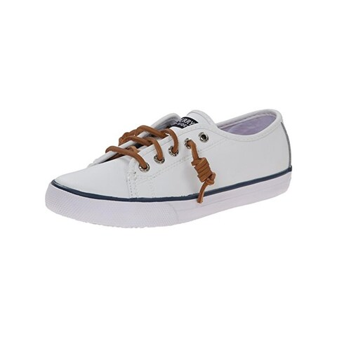 Sperry Girls Seacoast Boat Shoes Girl's Leather