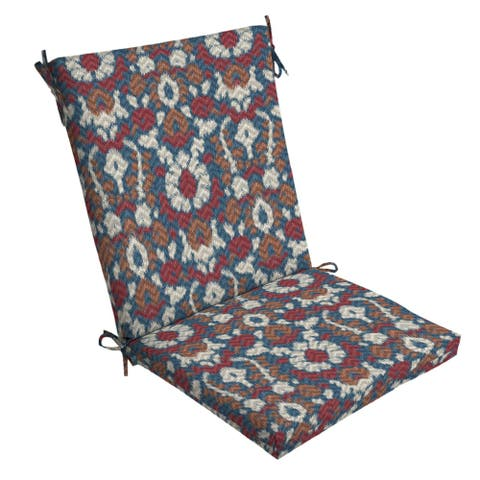 Arden Selections DriWeave Phyllis Ikat Outdoor Chair Cushion - 44 in L x 20 in W x 3.5 in H