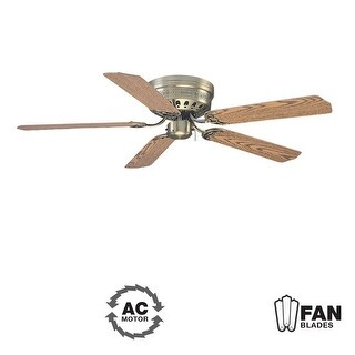 "Ellington Fans Close-Up-52 Builder 52"" 5 Blade Indoor Hugger Ceiling Fan - Blades Included"
