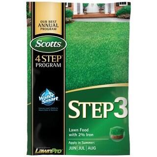Scotts 33040 Step Three Lawn Fertilizer, 5000 sq ft
