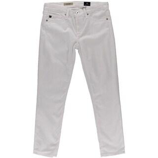Adriano Goldschmied Womens Stilt Crop Crop Denim Cigarette Jeans - 26