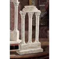 Design Toscano Temple of Castor and Pollux Column: Straight