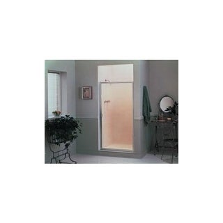 "Sterling 950C-36 Standard 64"" High x 36"" Wide Hinge Framed Shower Door with Clea - Silver"