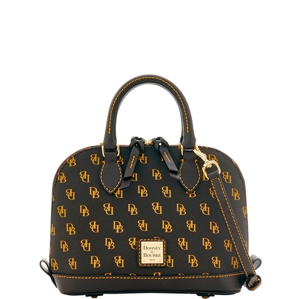 Dooney & Bourke Gretta Bitsy Bag (Introduced by Dooney & Bourke at $178 in Sep 2016) - brown tmoro