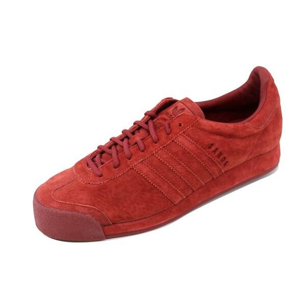 Adidas Men's Samoa Vintage Mystery Red Pigskin Suede B39016