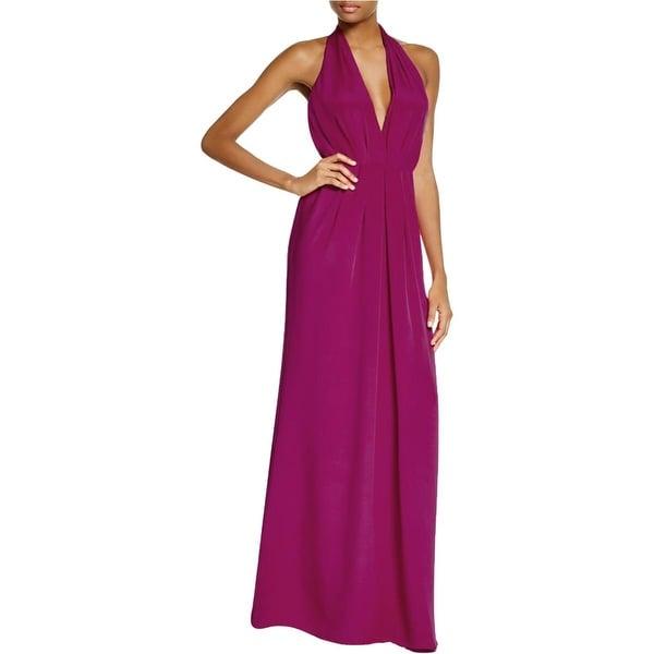 Jill Stuart Womens Evening Dress Crepe Pleated