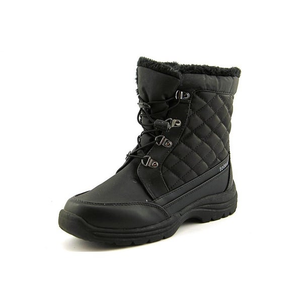 Totes Toby Women Round Toe Synthetic Snow Boot