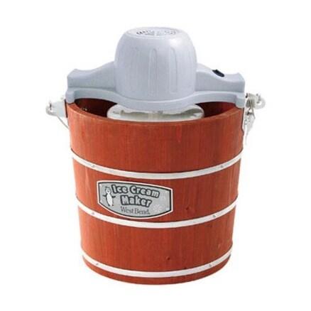 West Bend IC12701 Ice Cream Maker, 4 Quart, 50 watts