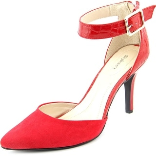Style & Co Miloe 2 Women Round Toe Canvas Red Heels