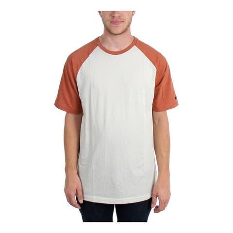 Rvca Mens The Camby Raglan Basic T-Shirt