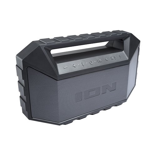 Ion Audio Llc Isp83bk Plunge Max Waterproof Stereo Boombox With Fm Radio