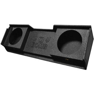 "Qpower Bomb '99-06 GMC Dual 10"" Box Under seat downfire"