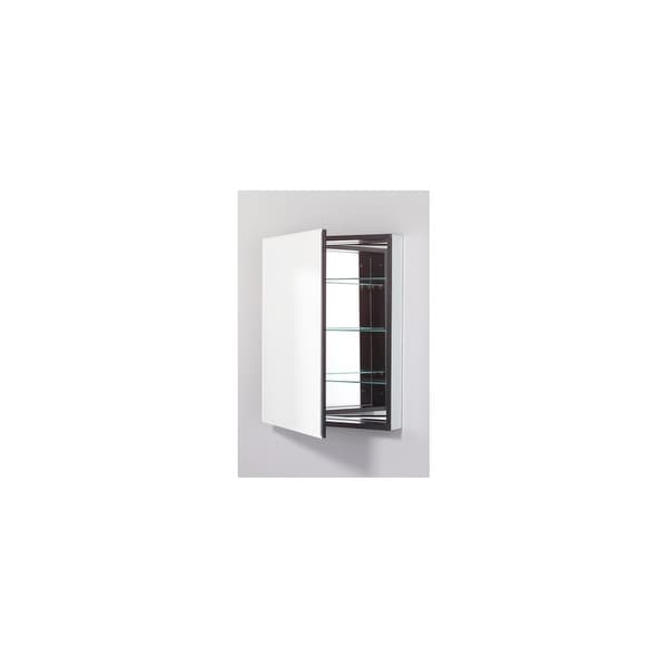 Robern Plm2430bre Pl 23 X 30 Frameless Medicine Cabinet Right Hinged With Beveled Mirror