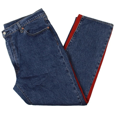 Levi's Mens 541 Tapered Leg Jeans Denim Colorblock - Blue/Red/White