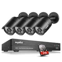 SANNCE 1080P 8CH HD 5-in-1 DVR Video Surveillance System