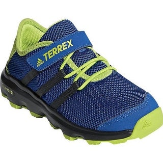 adidas Children's Terrex Climacool Voyager Cloudfoam Hiking Shoe Real Teal/Chalk White/Solar Slime